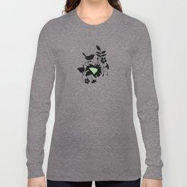 South Carolina - State Papercut Print Long Sleeve T-shirt