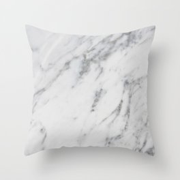 Real Marble 017 Throw Pillow