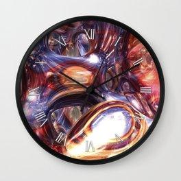 Flowing and Flourishing Wall Clock