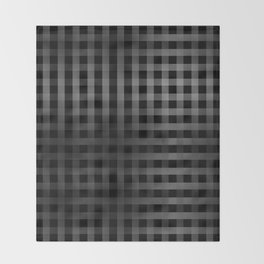 Vertical and Horizontal stripes Throw Blanket