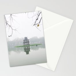 Foggy morning - Hanoi Stationery Cards