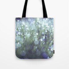blue and green and dewy Tote Bag
