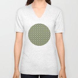 Four leaf clover pattern Unisex V-Neck