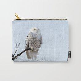 Lofty Vision (Snowy Owl) Carry-All Pouch