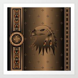 Eagle Nation Art Print