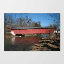 Geiger's Covered Bridge Canvas Print