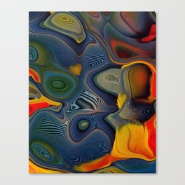 Feather Essence Canvas Print