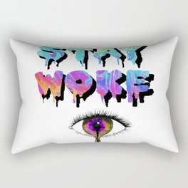 Stay Woke Pastel Rectangular Pillow
