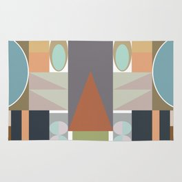 MCM Modestly Abstract Rug