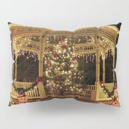 Gazebo Dressed for Christmas Pillow Sham