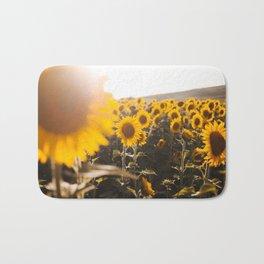 Sunflower's Season (III) Bath Mat