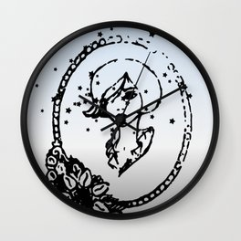 Starry Eyed Wall Clock