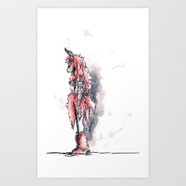 Pagan Costume 1 Art Print