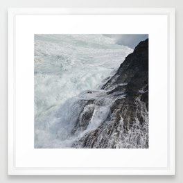 Waves in Kauai Framed Art Print