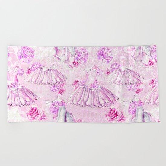 Ballerina #6 Beach Towel