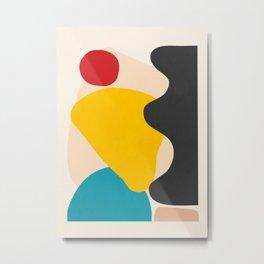 Abstract Shapes 56 Metal Print