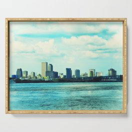 New Orleans Skyline Serving Tray