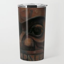 Emily Carr - Grizzly Bear Totem - Canada, Canadian Oil Painting - Group of Seven Travel Mug