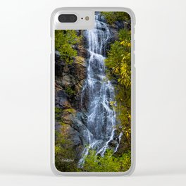 Bridal Veil Falls Two Clear iPhone Case
