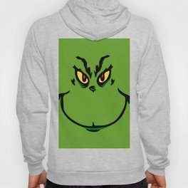 Grinch Smile - Green Cheeky Smirk Hoody