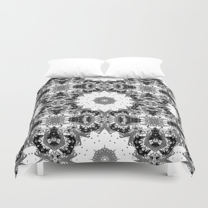 Star Symmetry Duvet Cover
