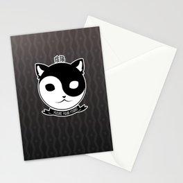 Yin Yang Meow // Kitten Kitty Cat of Balance Stationery Cards