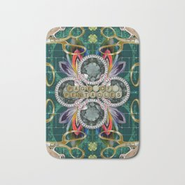 Page of Pentacles Bath Mat