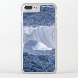 Matanuska Glacier Clear iPhone Case