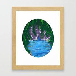 Hidden Spot Framed Art Print