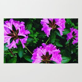 Rhododendrons Rug