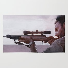 Rifleman Rick Grimes - The Walking Dead Rug