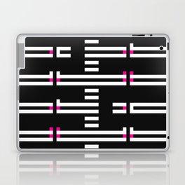 Licorice Bytes, No.5 in Black and Pink Laptop & iPad Skin