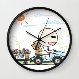 K Young-Outing(1) Wall Clock