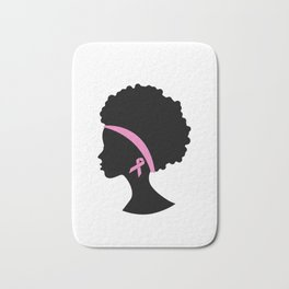 Breast Cancer Black Women, African American Breast Cancer Bath Mat