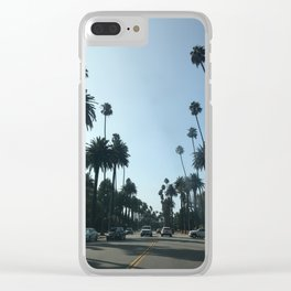 Beverly Hills Clear iPhone Case