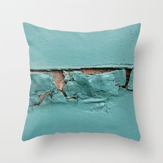 Too Much Paint Throw Pillow