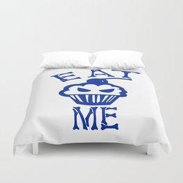 Eat Me (Blue Version) Duvet Cover