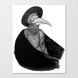Plague Doctor by Studinano Canvas Print
