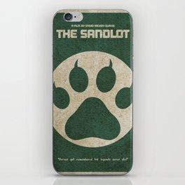 The Sandlot Minimalist Alternative Movie Poster iPhone Skin