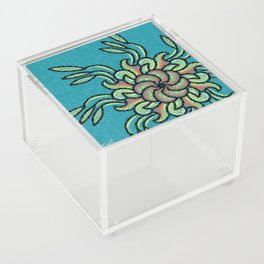 Blooming Off Center Acrylic Box
