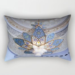 Dubai - Magnificent Chandelier Rectangular Pillow
