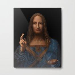 Salvator Mundi 2018 Metal Print
