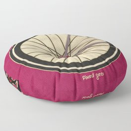 Single Speed Bicycle Floor Pillow