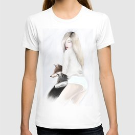women_fox T-shirt