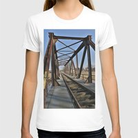 bridge T-shirts featuring Bridge by Falko Follert Art-FF77