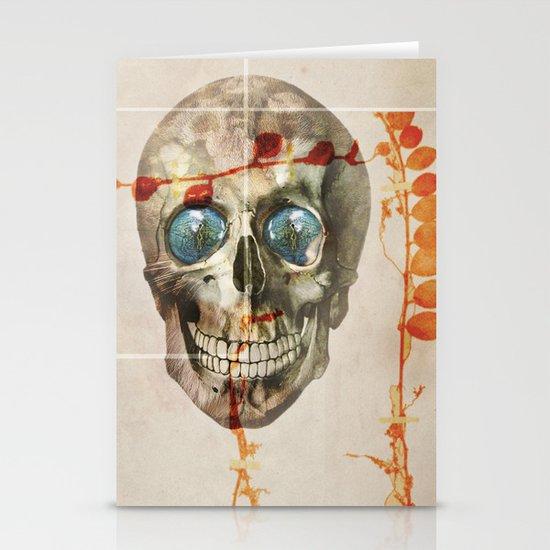 skull#04 Stationery Cards