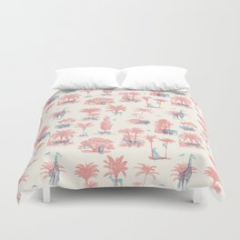 Where they Belong - Pastel Colors Duvet Cover
