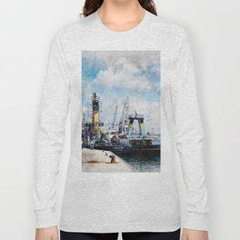 Trapani art 11 Long Sleeve T-shirt