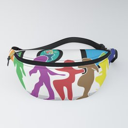 Puzzled People Fanny Pack