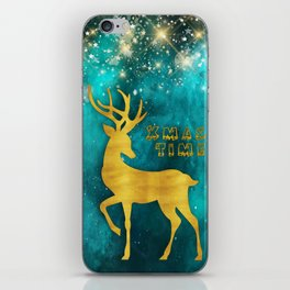 Christmas motif No. 2 iPhone Skin